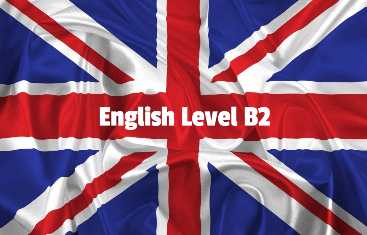 English learning from B1 to B2