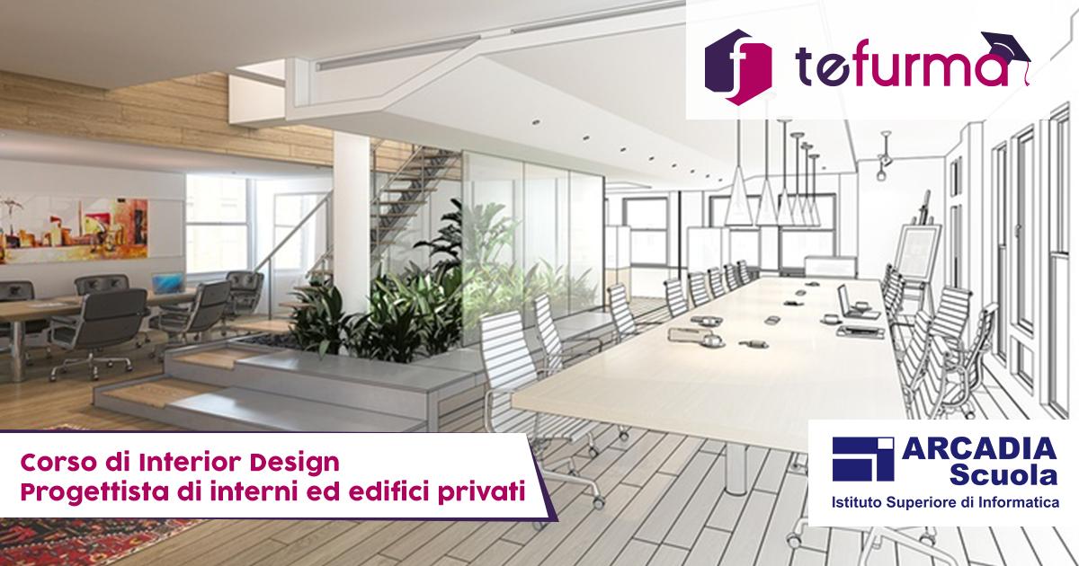 Corsi Design Di Interni.Corso Interior Design Tefurma